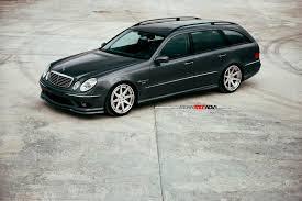 2003 mercedes e55 amg for sale superb wagon renntech e55 amg on adv1 wheels motorward petrol