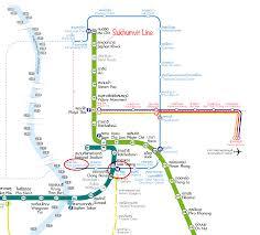 Bangkok Map Bangkok Bts And Mrt Map Low Gravity Ascents