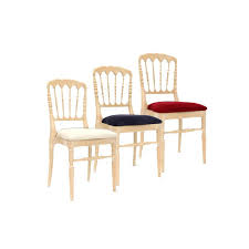 location chaise napoleon location chaises pour réception mariage conférence acaris