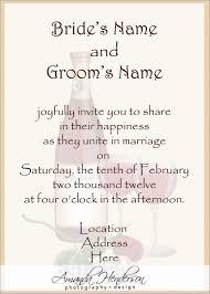 exles of wedding program wording wedding insert wording free printable invitation design