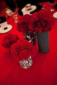 Red And White Centerpieces For Wedding by Red And Black Wedding Centerpieces Tips Black And White