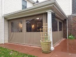 Clear Vinyl Curtains For Porch Enclosure Clear Drop Curtains Kreider S Canvas Service Inc