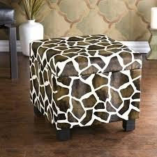 zebra print coffee table ottoman dazzling blue storage ottoman