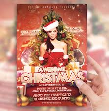 christmas party flyer by sorengfx on deviantart