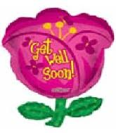 get well soon and balloons bargain balloons jumbo get well mylar balloons and foil balloons