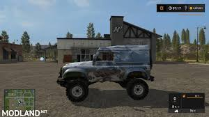 land rover defender 2017 land rover defender 90 v 1 0 mod farming simulator 17