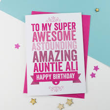 birthday cards from a is for alphabet personalised cards for
