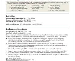 Healthcare Resume Templates Resume Templates For Medical Assistant Medical Assistant Resumes
