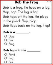 kindergarten reading passage reading passages for kindergarten fluency project edu