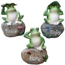 frog statues ornaments ebay