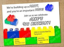 free lego birthday invitations best invitations card ideas