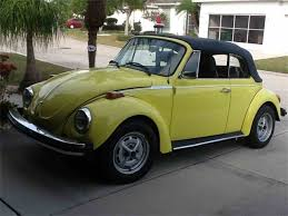 used yellow volkswagen beetle for 1974 volkswagen beetle for sale on classiccars com