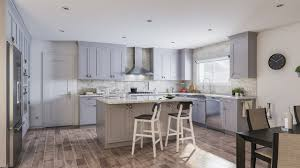 White Inset Kitchen Cabinets by Ready To Assemble Inset Blue Gray Shaker Cabinets