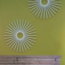 green wall decor zspmed of starburst wall decor