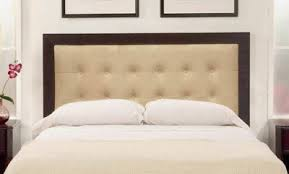 How To Button Upholstery Tutorial For Diy Contemporary Upholstered Headboard With Wood Frame