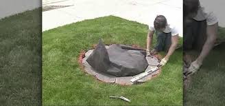 how to build a retaining wall garden bed island landscaping