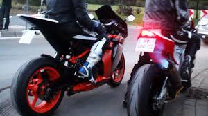 aprilia rsv4 motorcycles wallpapers aprilia rsv4 vs ktm rc8 rev battle flames acceleration 1080p
