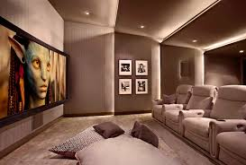 smart home theater projector lower storey cinema room hometheater projector home theatre