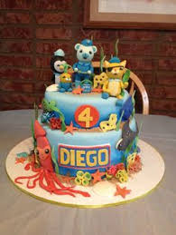 octonauts birthday cake octonauts octopod birthday cake sweetheart bake shop in portland