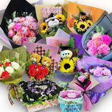 flower gift hy paper flower gift ready made classic tteen gift