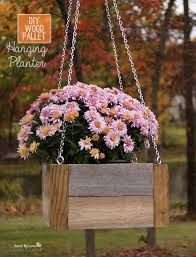 Diy Hanging Planters by Wood Pallet Project Diy Hanging Planter Savedbyloves Diy