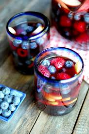 Best Party Cocktails - july 4th patriotic sangria cocktail u2013 best cheap patriot holiday