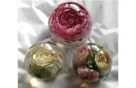 wedding flowers paperweight preserve your wedding flowers in a paperweight