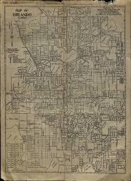 Orlando City Map 1934 street map of orlando florida orlando memory