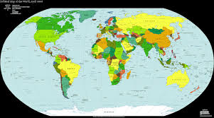 map of continents and countries university of minnesota campus map