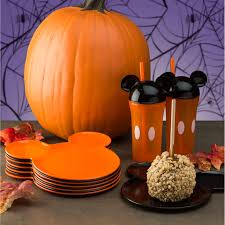 orange mickey mouse dishes for sale mickey halloween zak