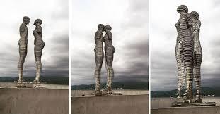 imagenes hermosas que se mueben estas hermosas estatuas se mueven para contar una trágica historia