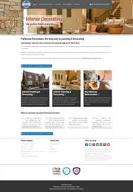 parkinson decorators website wn6 creative wigan web design