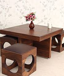 Solid Wood Coffee Tables Woodkartindia Solid Wood Coffee Table For Home Furniture And