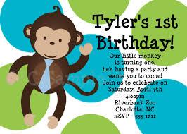 monkey birthday invitations u2013 gangcraft net