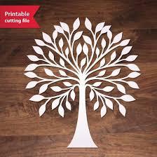 best 25 tree stencil ideas on cut canvas tree
