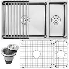 Ticor Kitchen Sinks 31 1 4 Ticor S6512 Kit 16 Stainless Steel Bowl