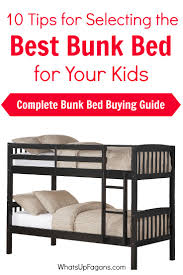 Twin Bed Vs Double Bed 10 Tips For Selecting The Best Bunk Bed For Your Kids Bunk Bed