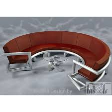 contemporary semi circle sofas s f international manufacturer