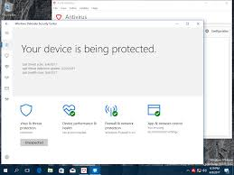 how to enable and use the built in windows defender for antivirus