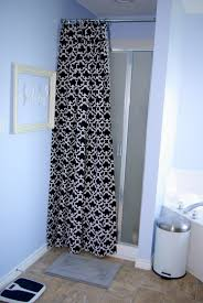 bathroom gorgeous stall shower curtain for bathroom design with