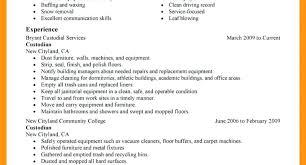 resume templates janitorial supervisor memeachu custodian resume sle samuelbackman com