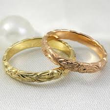gold rings old images Gold rings engraved wedding bands handmade engagement rings jpg