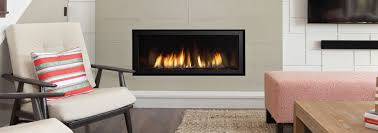 linear fireplace connect two rooms line an entire wall create a