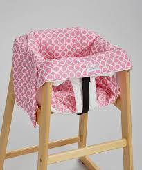 Pink Swinging Baby Chair Smitten Baby Chateau Rose Swing U0026 Restaurant High Chair Cover Zulily