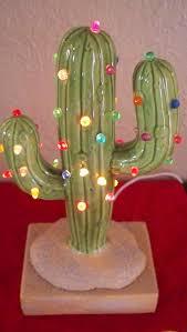 vintage cactus ring holder images Vintage christmas lighted cactus christmas tree decor southwest jpg