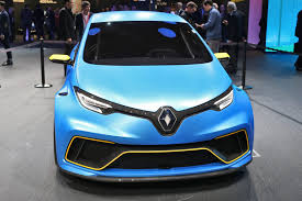 renault concept cars 3 2s 2017 renault zoe e sport concept is geneva highlight