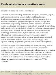 hr executive resume samples hr executive resume samples examples
