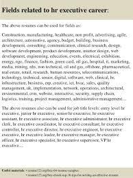 senior hr manager resume sample top 8 hr executive resume samples