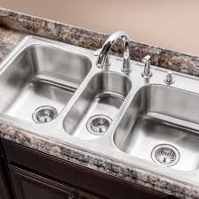Drop In Kitchen Sinks Houzer Pgt 4322 1 Premiere Gourmet Series Topmount Stainless Steel
