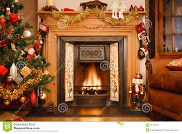 fireplace clipart christmas fireplace scene pencil and in color